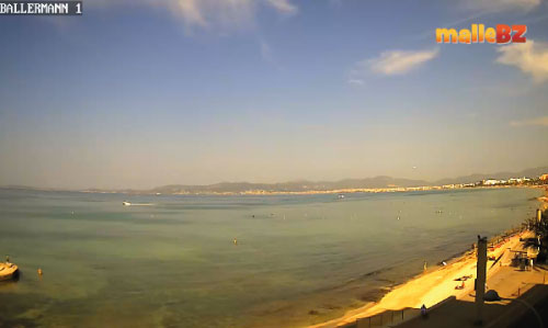 Webcam Livecam Ballermann 1 Playa de Palma Mallorca